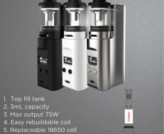 บุหรี่ไฟฟ้า Kanger Juppi Full Kit